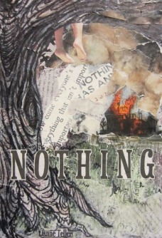 Nothing by Janne Teller Consistent with signature collage style and a love for reading and illustration, these are three book covers designed for three of my favorite books. Each cover appropriately gives away few details of the story yet enough to intrigue the audience.